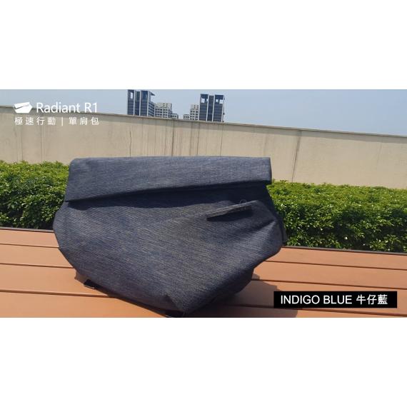 72折【預購】 Radiant R1 極速行動單肩包 - 牛仔藍 (預計出貨 7月中之後)