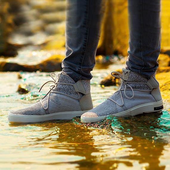 限時下殺 52折! | 百分百美國 VIA原廠 | 奈米防水針織休閒鞋