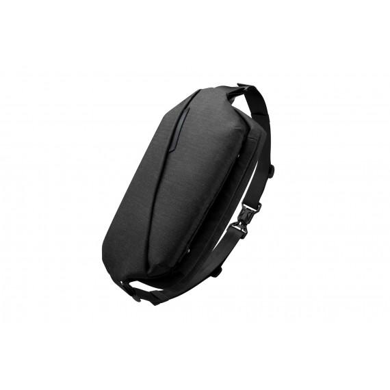 【雙十二限定價】Radiant R0 Plus 行動機能單肩包 - 曜石黑