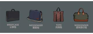 包包名稱總類大集合 | 這8款常見的包包名稱,你說的出它們的故事嗎?