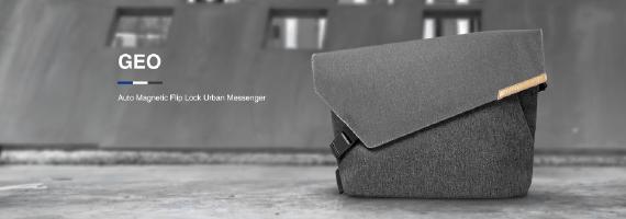 Urbanature|Geo Sling 多功能電腦斜背包