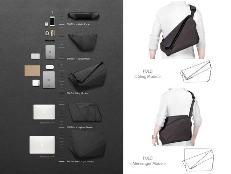 NIID x Urbanature|FOLD & Switch - fold